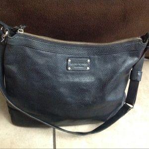 Kate Spade Large Black Leather Purse